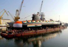 """""""Khanderi"""" เรือดำน้ำใหม่ของอินเดีย ที่ฝรั่งเศสออกแบบ"""