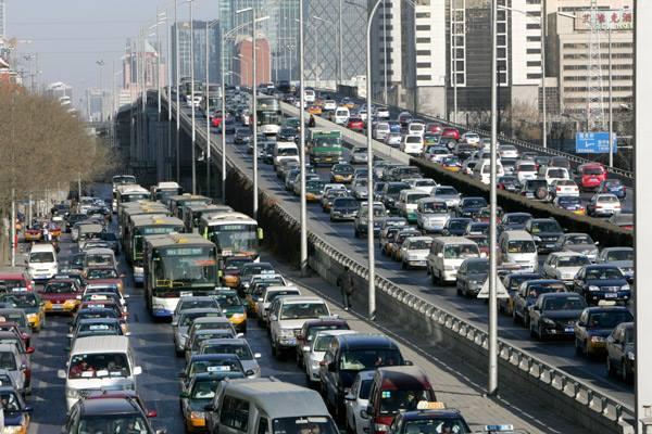 กรุงปักกิ่ง หลุดโผเมืองที่รถติดสุดของจีน