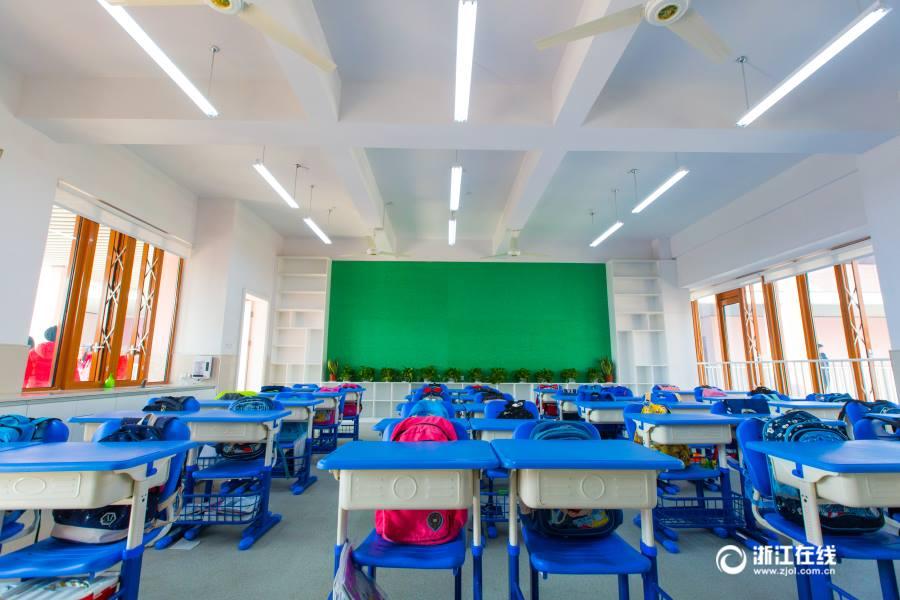 สีสันสดใส! โรงเรียนจีนทุ่มทุนรีโนเวทครั้งใหญ่ให้เด็กอยากไปเรียน