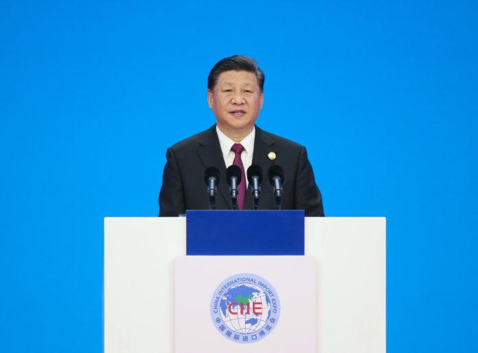 ปธน.จีนกล่าวเปิดงานมหกรรมสินค้านำเข้านานาชาติจีน 2018